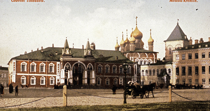 Monasterio Chudov en el territorio del Kremlin de Moscú