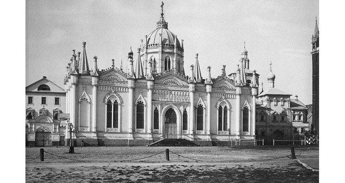 Monasterio de la Ascensión en el territorio del Kremlin de Moscú