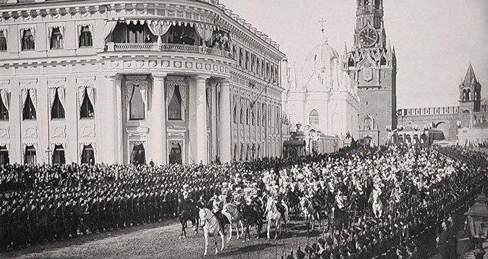 Palacio Pequeño Nicolás en el territorio del Kremlin