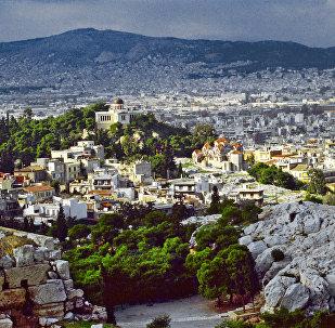 Atenas, capital de Grecia