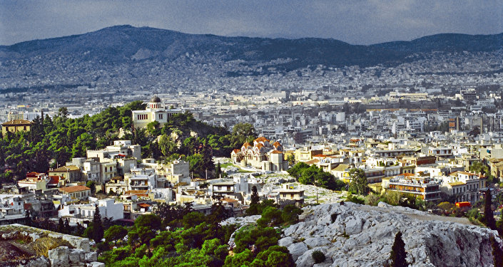 Atenas, capital de Grecia (archivo)