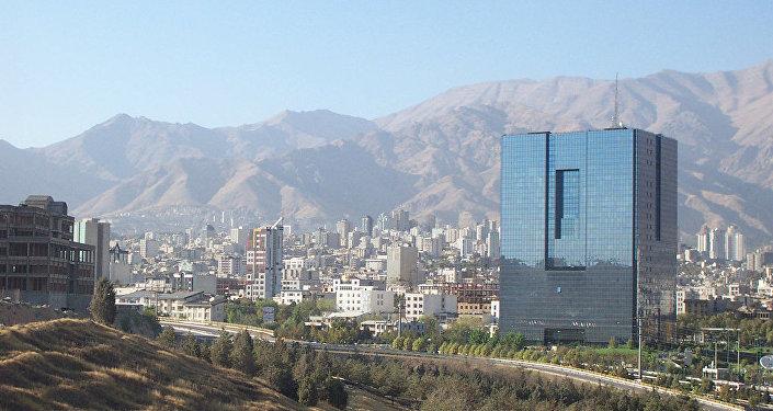 El banco central de Irán, en Teherán