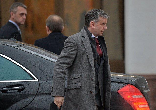 Mijaíl Zurábov, exembajador de Rusia en Ucrania