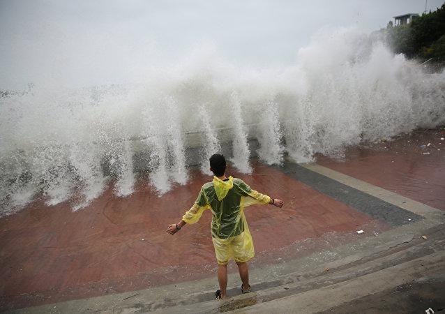 Tifón Nida en China