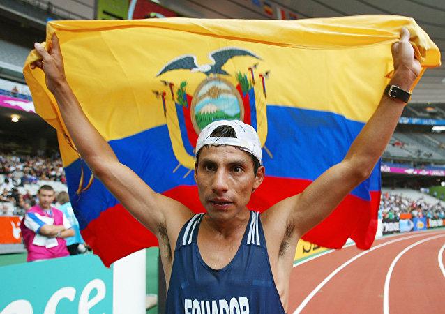 Jefferson Pérez, único medallista olímpico ecuatoriano