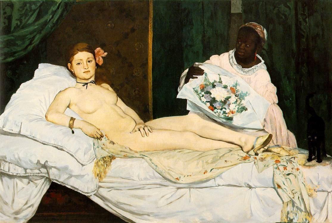 Olympia de Eduard Manet