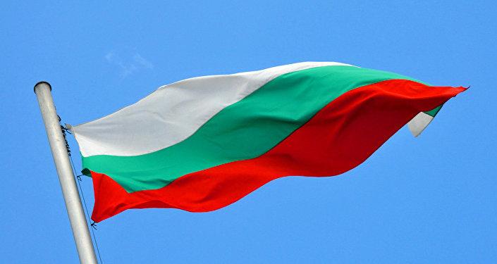 La bandera de Bulgaria