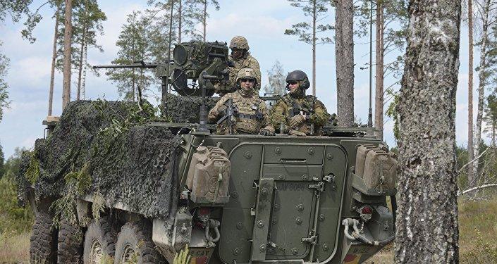 Las maniobras de la OTAN en Estonia
