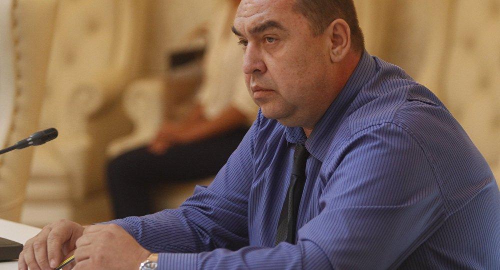 Líder de la autoproclamada República Popular de Lugansk (RPL), Ígor Plotnitski (archivo)