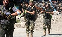 Los combatientes del Ejército de Siria