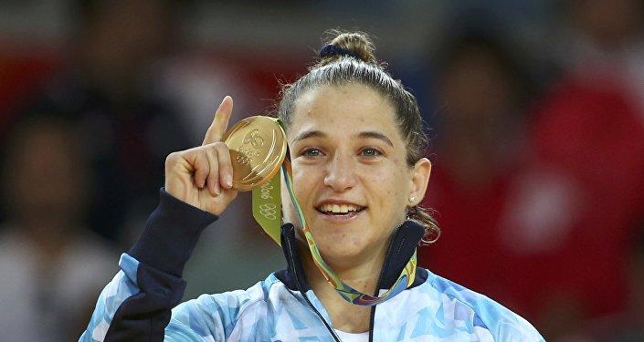 Paula Pareto, yudoca argentina