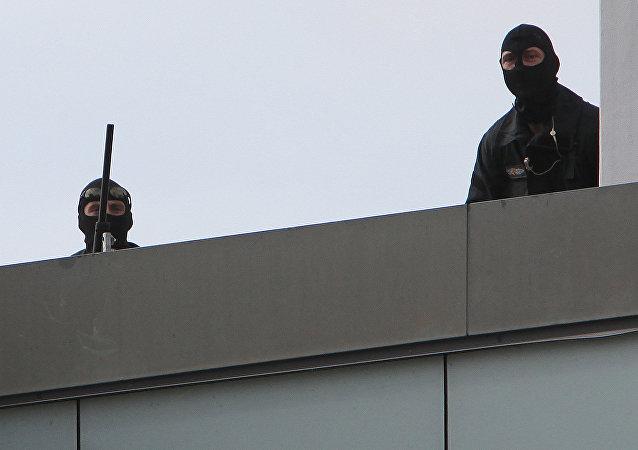 Los policias alemanes (archivo)