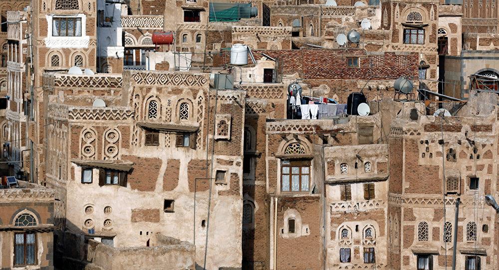 La Ciudad Vieja de Saná, la capital de Yemen