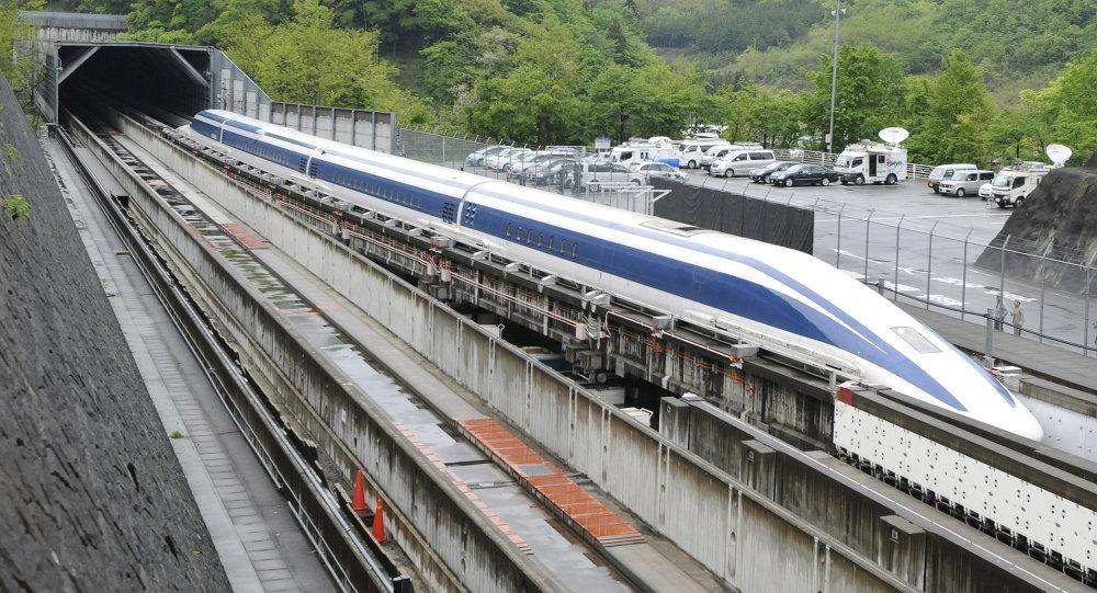 Un tren maglev (imagen referencial)