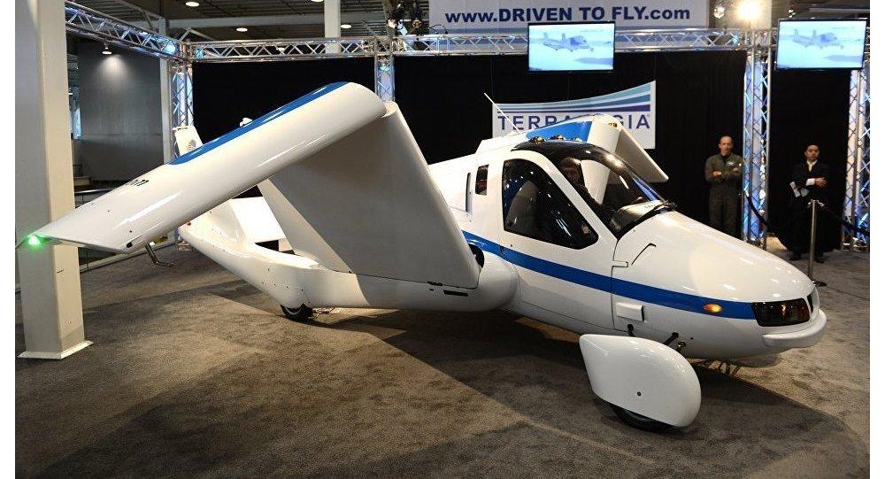 Un coche volador (imagen referencial)