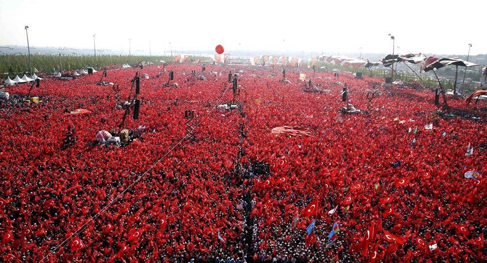 El mitin por la democracia en Turquía (archivo)