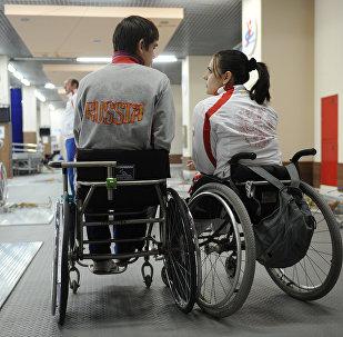 Atletas paralímpicos rusos (archivo)