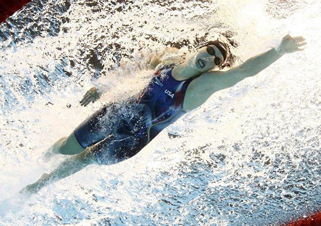 Kathleen Ledecky, nadadora de EEUU