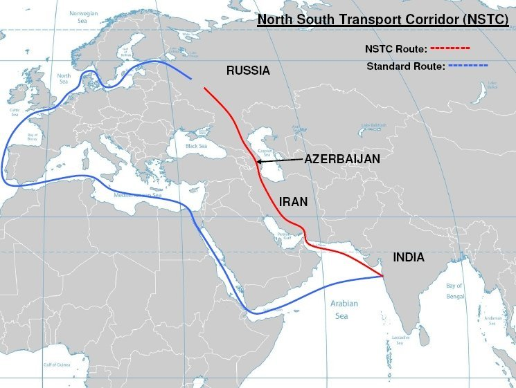 El corredor de transporte Norte-Sur