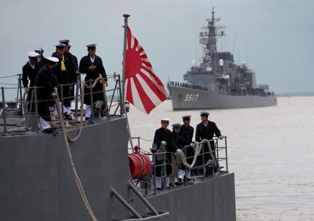 Buques de la Fuerza Marítima de Japón (archivo)