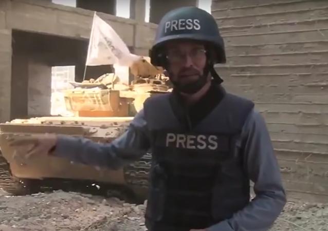 Un tanque explota en directo
