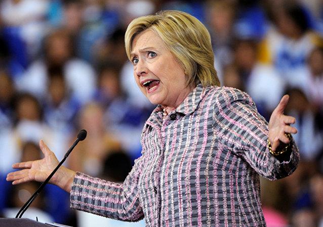 Hillary Clinton, candidata presidencial demócrata de EEUU