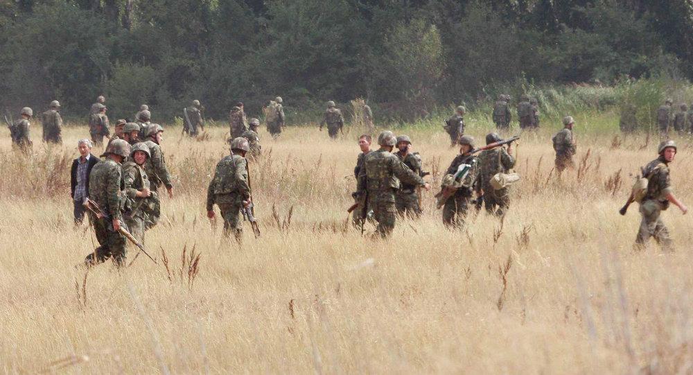 Militares georgianos (archivo)