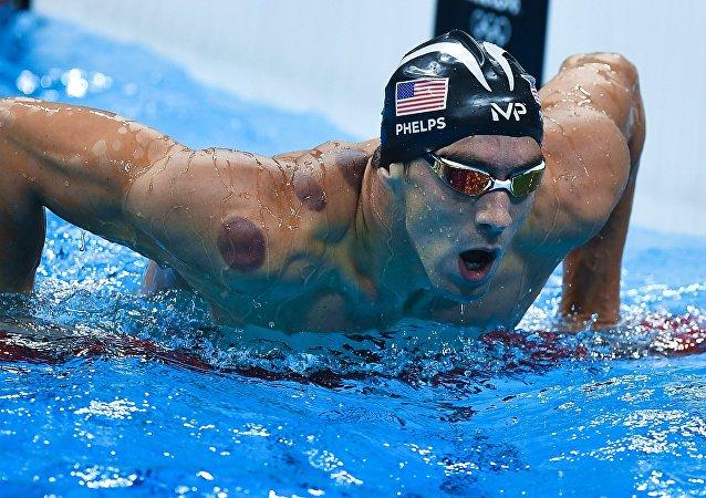 Michael Phelps, nadador estadounidense