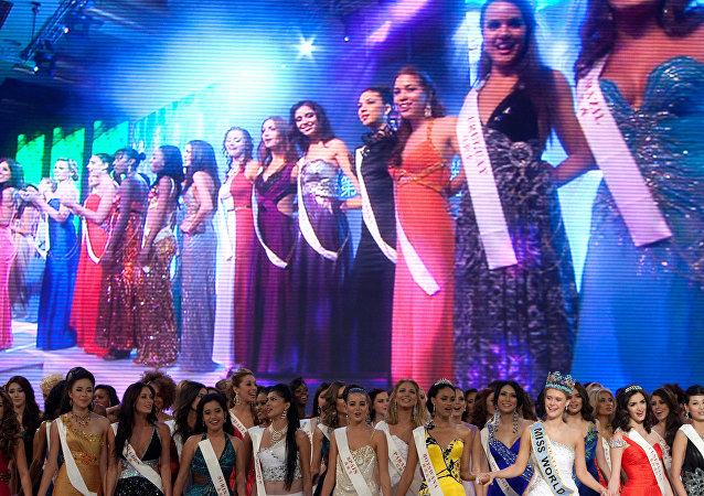 El concurso Miss Mundo