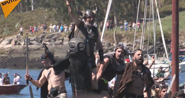 Romería Vikinga: guerreros nórdicos invaden España