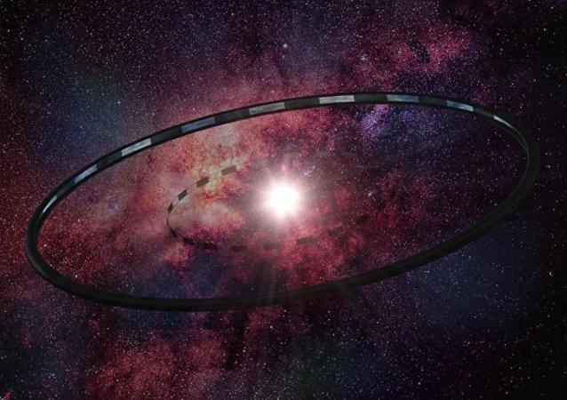El mundo de anillo de Titiriteros por Larry Niven