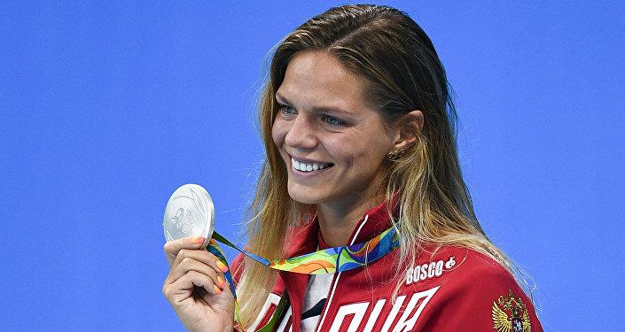 Yulia Efímova, nadadora rusa