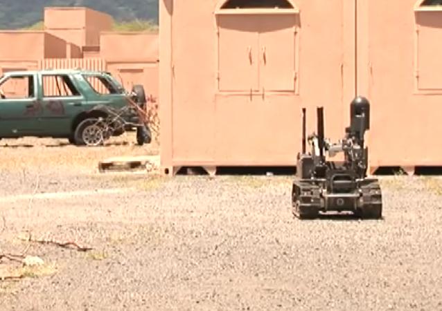 EEUU ensaya su nuevo robot de combate