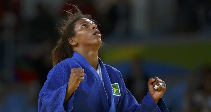 Rafaela Silva, judoca brasileña