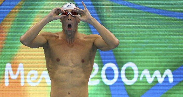 Michael Phelps en JJOO 2016 en Río