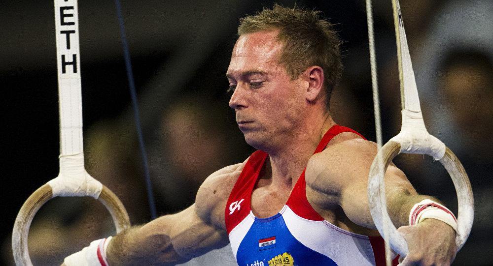 Yuri van Gelder, el gimnasta holandés