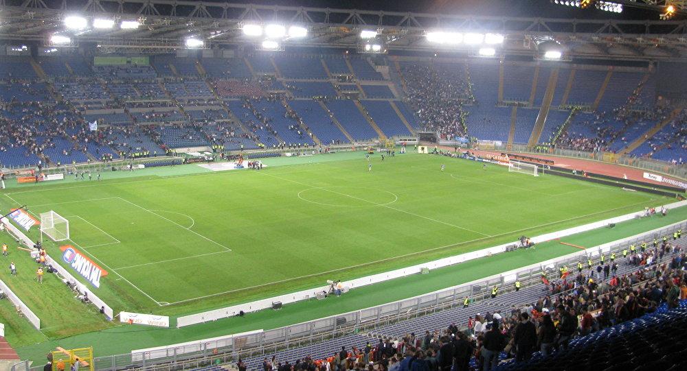 El Estadio Olímpico de Roma