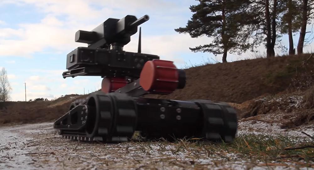 RS1A3 Minirex, robot táctico para combate urbano
