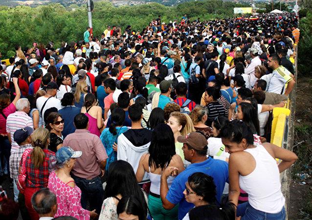 La frontera entre Venezuela y Colombia (archivo)