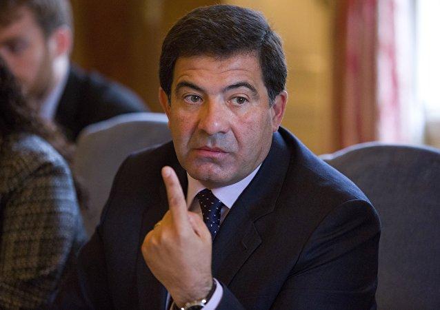 Ricardo Echegaray, presidente de la Auditoría General de la Nación de Argentina