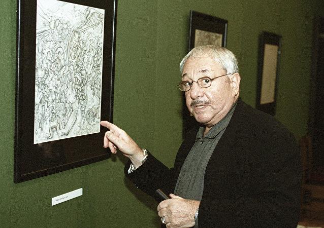 Ernst Neizvestny, escultor ruso (archivo)