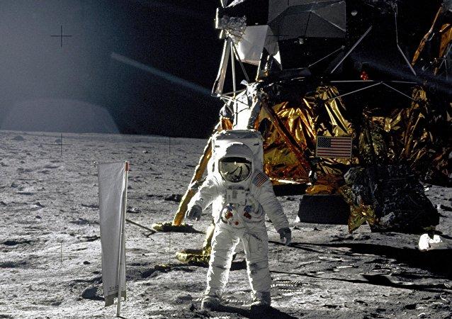 La misión Apolo 11 en la Luna