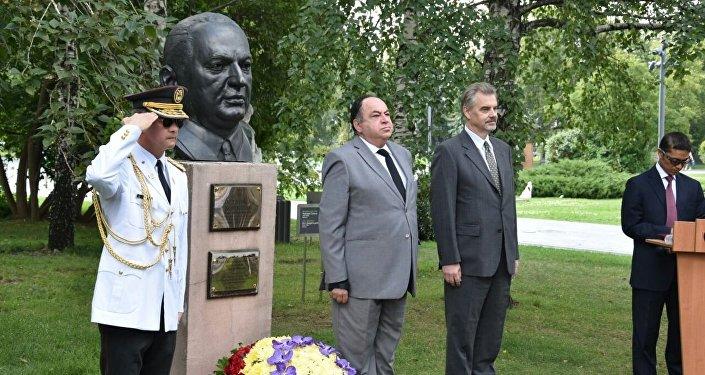 La conmemoración del 207 aniversario del Primer Grito de Independencia en Moscú