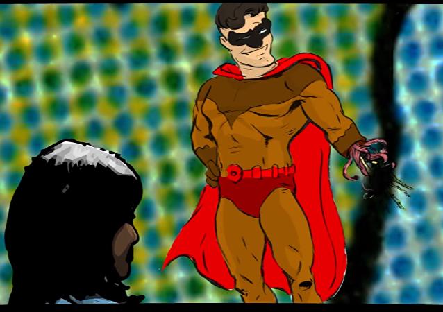 Superhéroe regenera su brazo