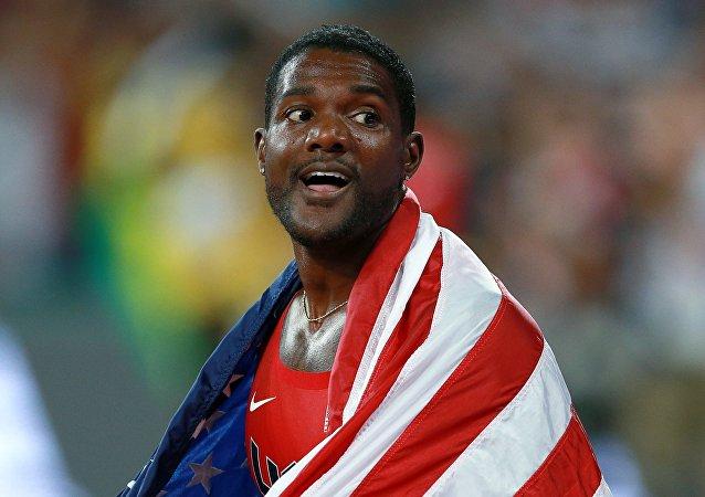 Justin Gatlin, atleta estadounidense