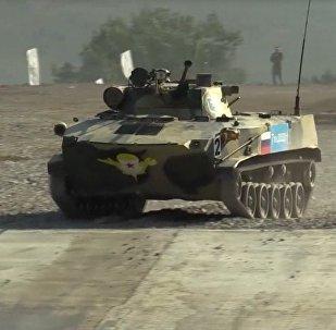 Carreras de tanques en los Juegos Militares Internacionales Army 2016