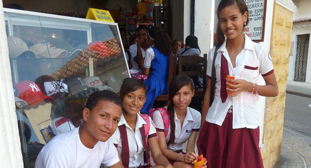 Niños colombianos
