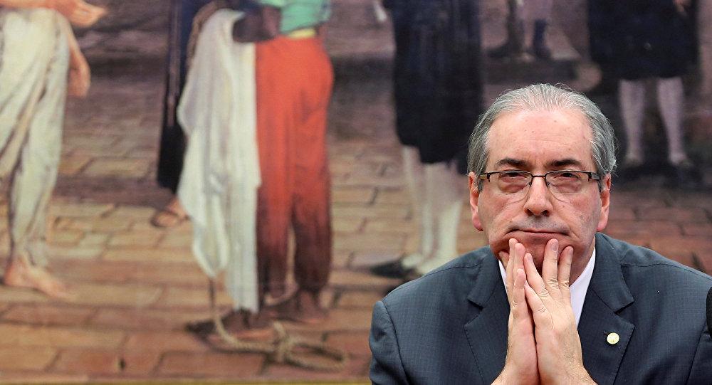 Eduardo Cunha, ex presidente de la Cámara de Diputados