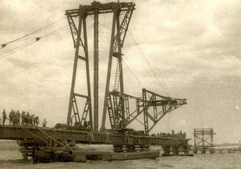 Construcción del puente de Kerch