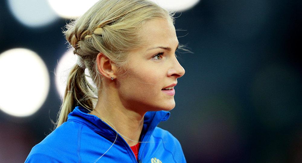 Darya Klishina, atleta rusa
